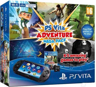 Игровая приставка Sony PlayStation Vita (PS719843313) - упаковка