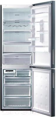 Холодильник с морозильником Samsung RL59GYBMG/BWT - внутренний вид
