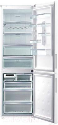 Холодильник с морозильником Samsung RL59GYBSW/BWT - внутренний вид