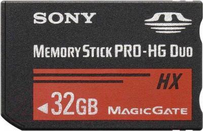 Карта памяти Sony Memory Stick PRO-HG Duo HX 32GB (MS-HX32BT) - общий вид