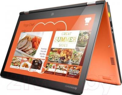 Ноутбук Lenovo Yoga 2 (59430716) - в согнутом положении