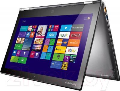 Ноутбук Lenovo Yoga 2 (59430718) - в согнутом состоянии