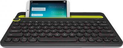 Клавиатура Logitech Bluetooth Multi-Device Keyboard K480 (920-006368) - пример использования