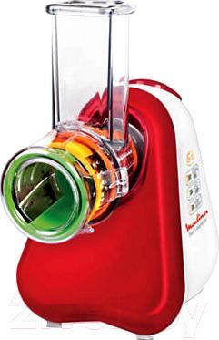 Овощерезка электрическая Moulinex DJ753500 - хранение насадок