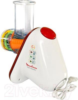 Овощерезка электрическая Moulinex DJ753500 - отсек для шнура сзади