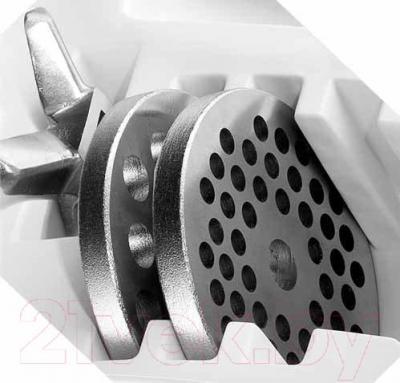 Мясорубка электрическая Moulinex ME620132 - хранение насадок для фарша