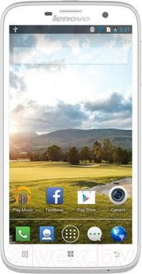 Смартфон Lenovo A850 (белый) - общий вид