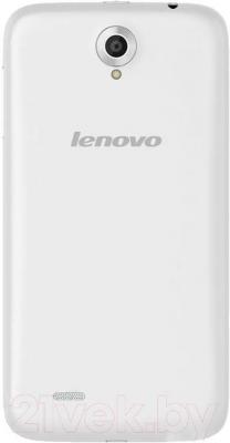 Смартфон Lenovo A850 (белый) - вид сзади