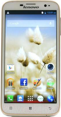Смартфон Lenovo A850 (Gold) - общий вид