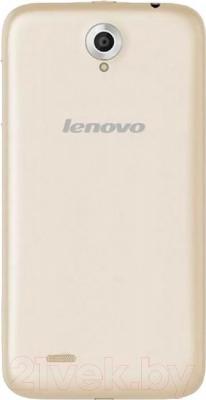 Смартфон Lenovo A850 (Gold) - вид сзади