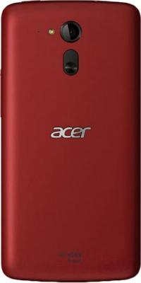 Смартфон Acer Liquid E700 / HM.HFAEE.003 (красный) - вид сзади