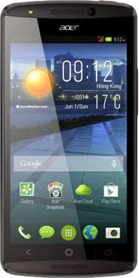 Смартфон Acer Liquid E700 / HM.HFAEE.003 (красный) - общий вид
