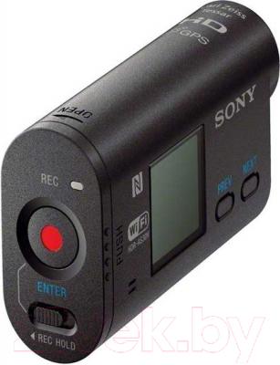 Экшн-камера Sony HDR-AS30VB (комплект WINTER) - вид сзади