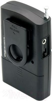 Радиоприемник Ritmix RPR-2061 (черный) - вид сзади