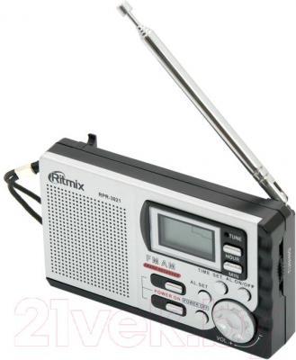 Радиоприемник Ritmix RPR-3021 (черный) - общий вид