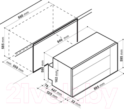 Электрический духовой шкаф Hotpoint MHR 940.1 (AN)/HA S