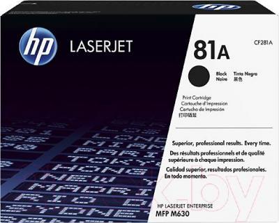 Картридж HP CF281A - общий вид