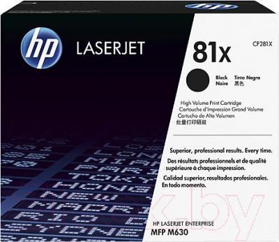 Картридж HP CF281X - общий вид