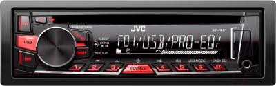 Автомагнитола JVC KD-R461E - общий вид