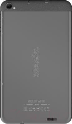 Планшет Wexler TAB 8iQ (8GB, 3G, черный) - вид сзади