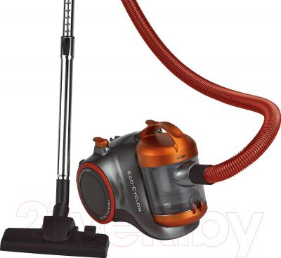 Пылесос Clatronic BS 1293 (серо-оранжевый) - общий вид