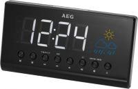 Радиочасы AEG MRC 4141 P (Black) -