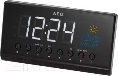 Радиочасы AEG MRC 4141 P (Black) - общий вид