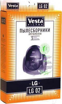 Комплект пылесборников для пылесоса Vesta LG 02 - общий вид