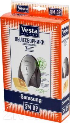 Комплект пылесборников для пылесоса Vesta SM 09 - общий вид