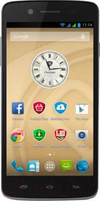 Смартфон Prestigio MultiPhone 5507 Duo (черный) - общий вид
