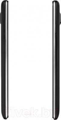 Смартфон Prestigio MultiPhone 5507 Duo (черный) - боковые панели