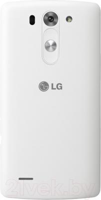 Смартфон LG G3 S (D722) (белый) - вид сзади