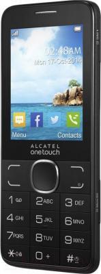 Мобильный телефон Alcatel One Touch 2007D (темно-серый) - общий вид