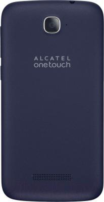 Смартфон Alcatel One Touch POP C7 7041D (Bluish Black) - вид сзади