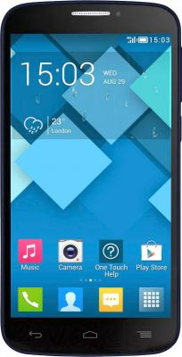 Смартфон Alcatel One Touch POP C7 7041D (Bluish Black) - общий вид