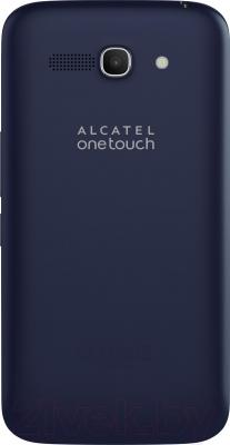 Смартфон Alcatel One Touch POP C9 7047D (Bluish Black) - вид сзади