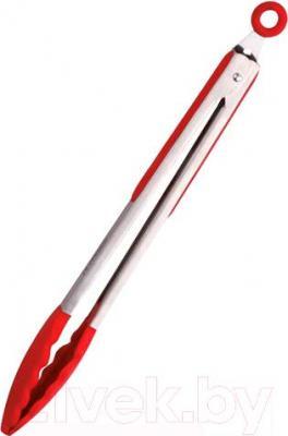 Щипцы кухонные Peterhof PH-12849 (красный) - общий вид