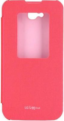 Чехол-книжка LG CCF-385AGRAPK - общий вид