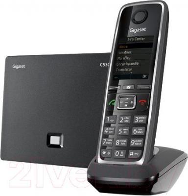 Беспроводной телефон Gigaset C530A IP (Black) - общий вид