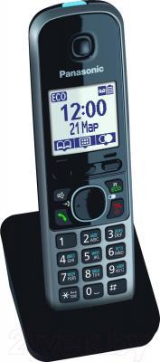 Дополнительная телефонная трубка Panasonic KX-TGA671RUB - общий вид