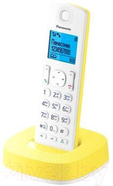 Беспроводной телефон Panasonic KX-TGC310RUY - общий вид