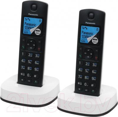 Беспроводной телефон Panasonic KX-TGC312RU2 - общий вид
