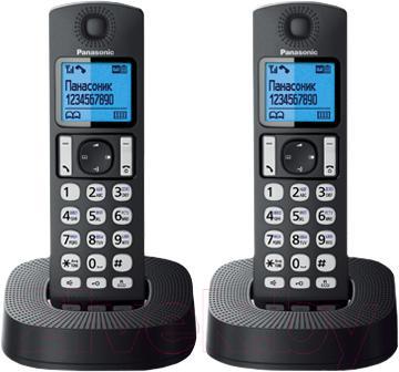 Беспроводной телефон Panasonic KX-TGC322RU1 - общий вид