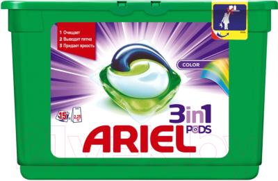 Гель для стирки Ariel Color (Автомат, 15х27г)