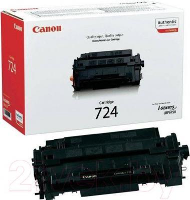 Тонер-картридж Canon 724 (3481B002AA) - общий вид