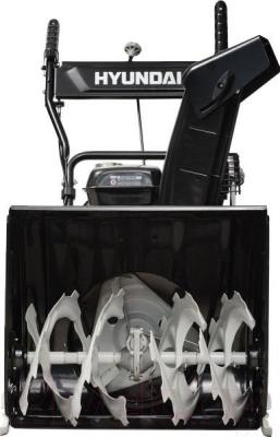 Снегоуборщик Hyundai S5555 - вид спереди