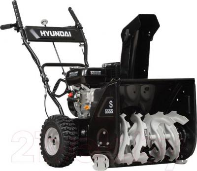 Снегоуборщик Hyundai S5555 - вполоборота