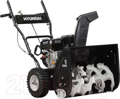 Снегоуборщик Hyundai S5560 - вполоборота