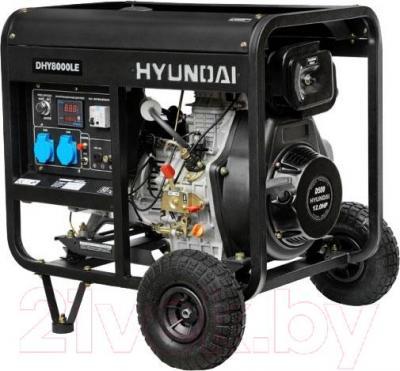 Дизельный генератор Hyundai DHY8000LE - общий вид