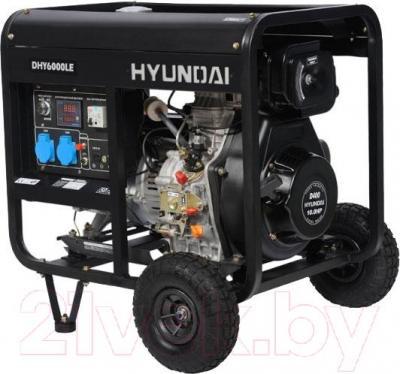 Дизельный генератор Hyundai DHY6000LE - общий вид